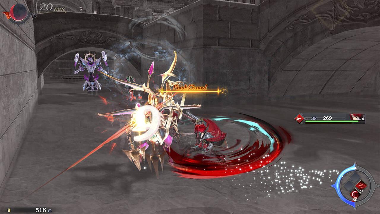 Ys IX Monstrum Nox Switch Adol battle