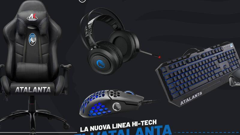 AK, the new hi-tech products signed by Atalanta in collaboration with AK Esports can be booked