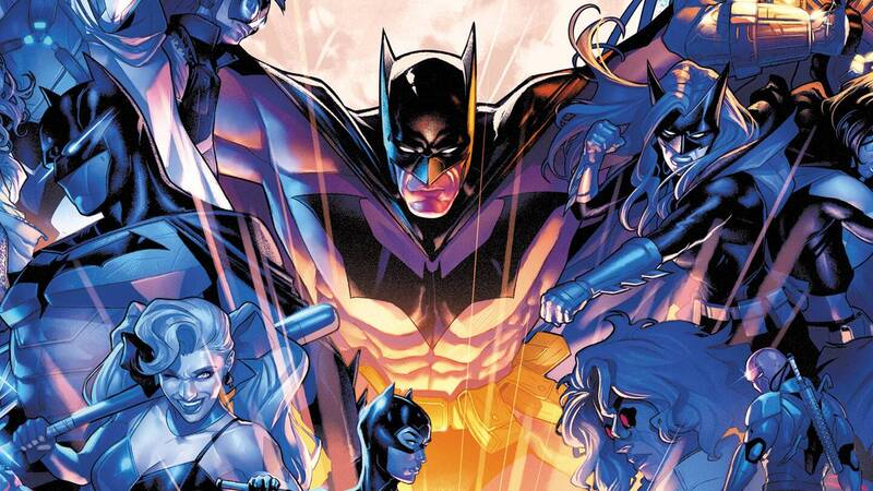 Batman leaves Gotham City, Shadows of the Bat arrives