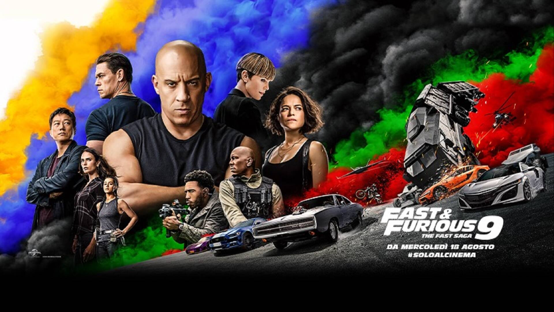 Clip in esclusiva di Fast & Furious 9