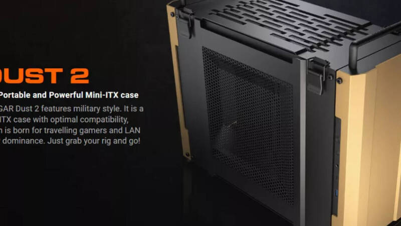 Cougar, this new Mini-ITX case will keep dust away from components