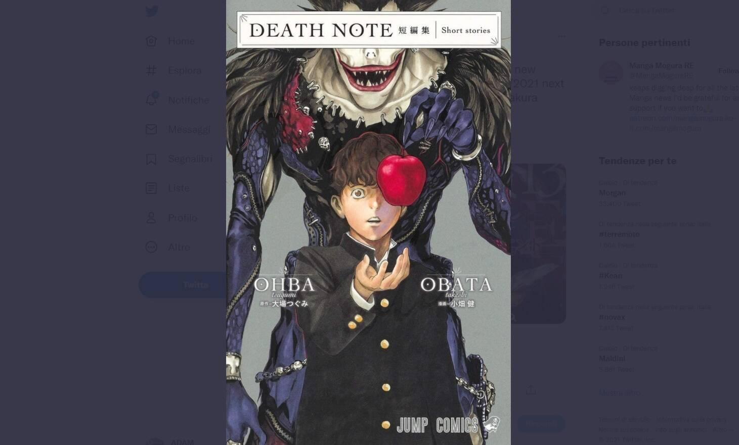 death note takeshi obata
