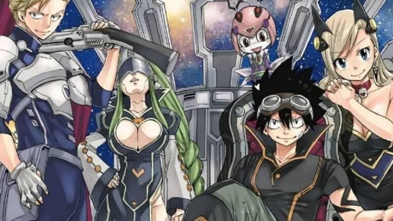 Edens Zero: the manga celebrates the third anniversary of serialization
