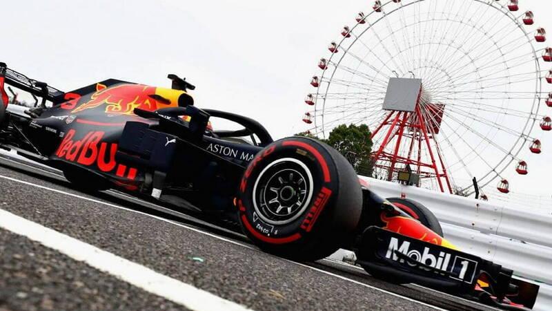 Formula 1, also misses the Japanese Grand Prix
