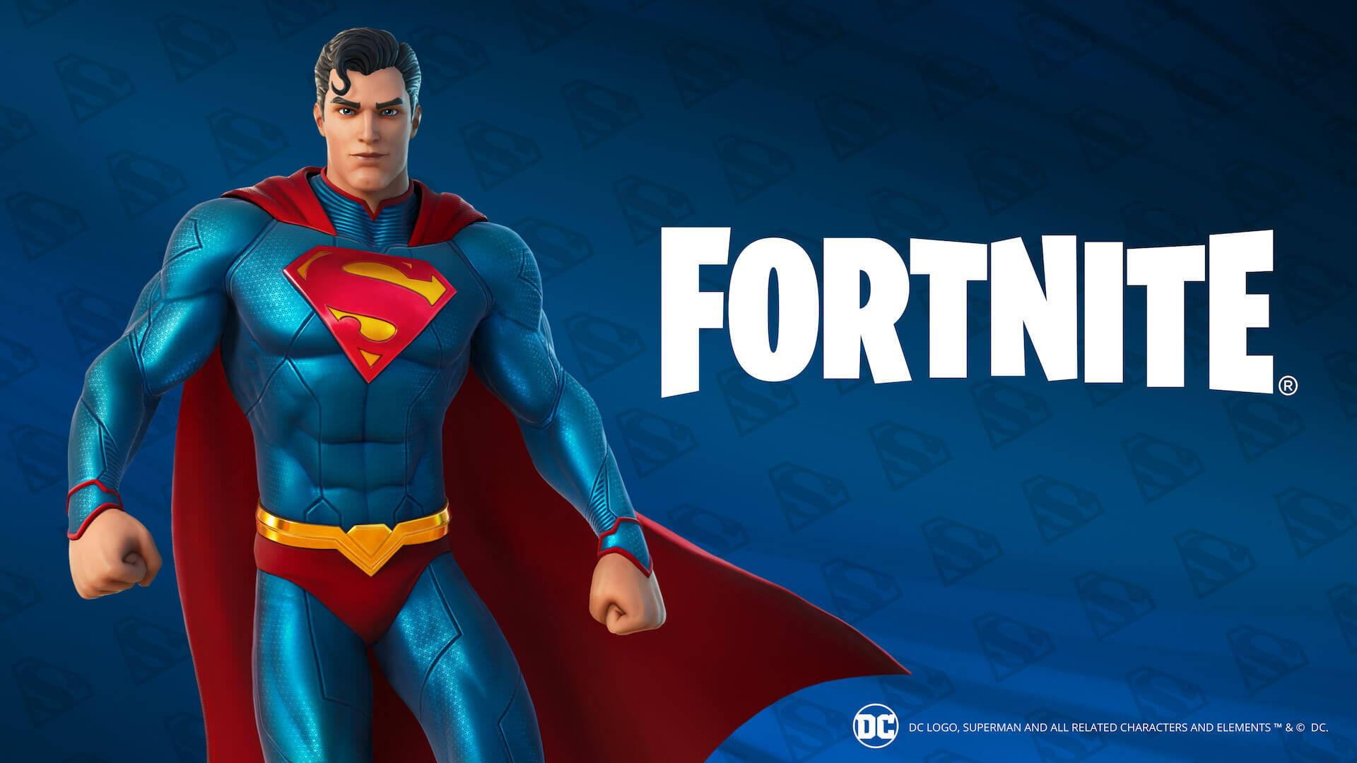 Fortnite Superman
