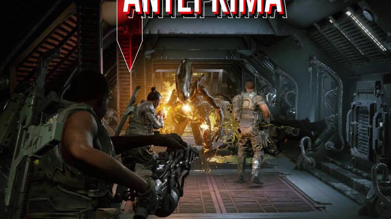 Aliens Fireteam Elite   Preview, xenomorphic threat