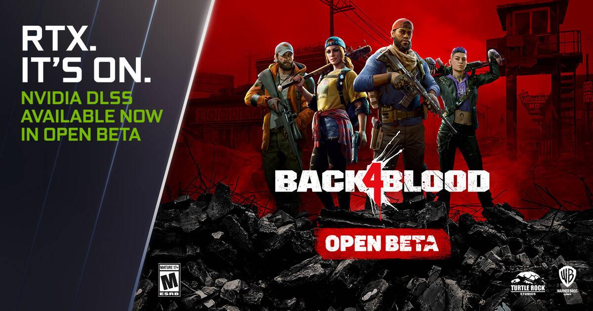 GeForce RTX Back 4 Blood