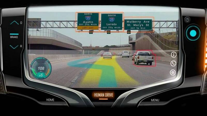 Steering wheel or video game? The General Motors concept