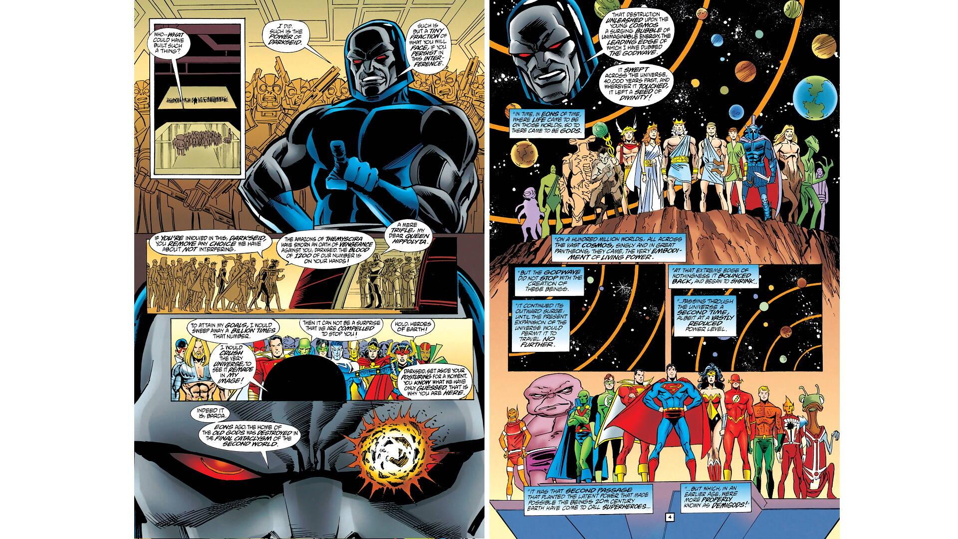 Grandi Eventi DC: Genesi (1997)