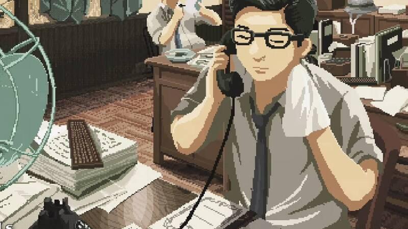 Hataraku no Hyaunenshi: the video in pixel art tells the 100 years of corporate culture in Japan