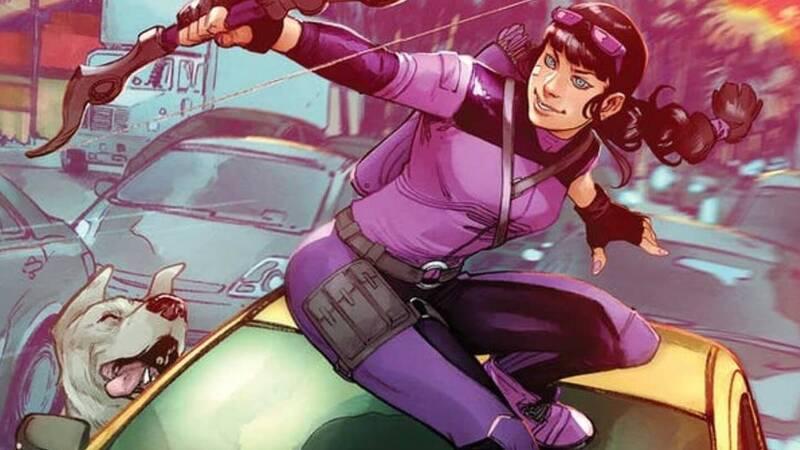 Marvel presents the new Hawkeye series: Kate Bishop