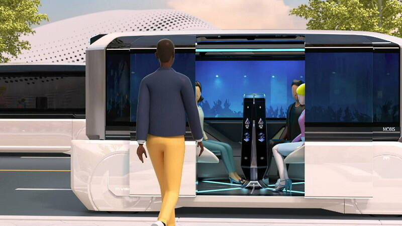 Hyundai M.Vision X, the concept car ready for the Coronavirus