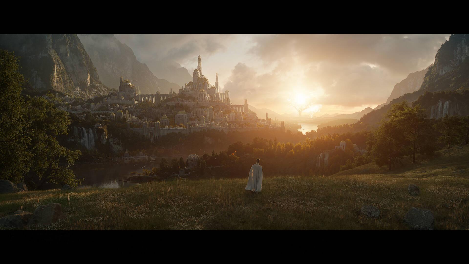 Il Signore degli Anelli: data e prima immagine della serie TV Amazon Prime Video
