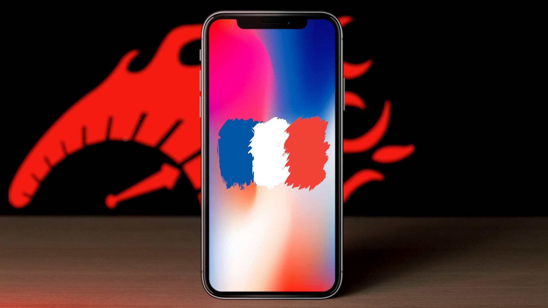 iPhone Francia