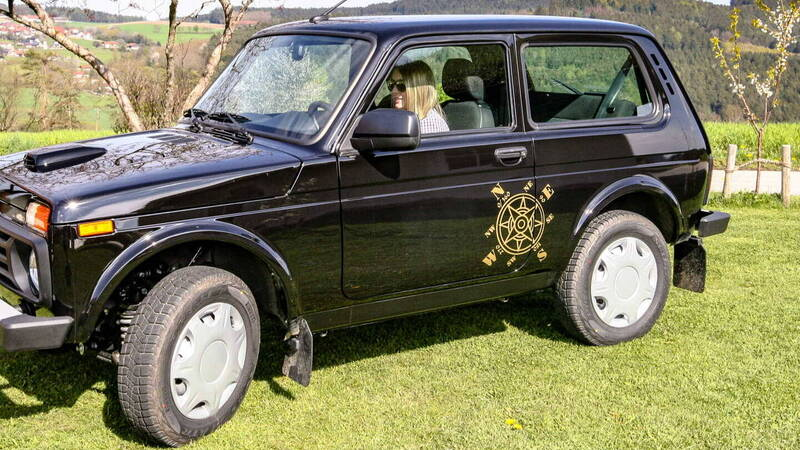 Electric Lada Niva, from Germany with fury