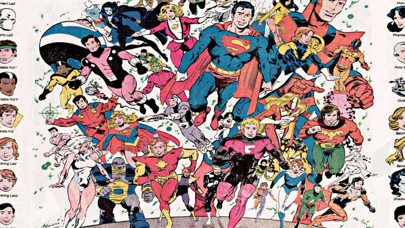 The Legion of Super-Heroes: a future of justice