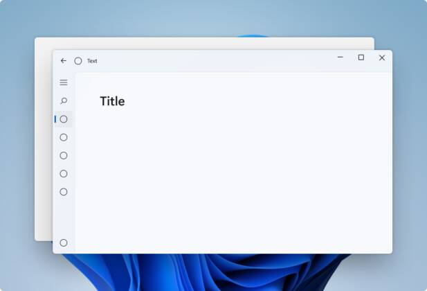 Materiale Mica Windows 11
