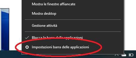 Nascondere Taskbar Windows 11