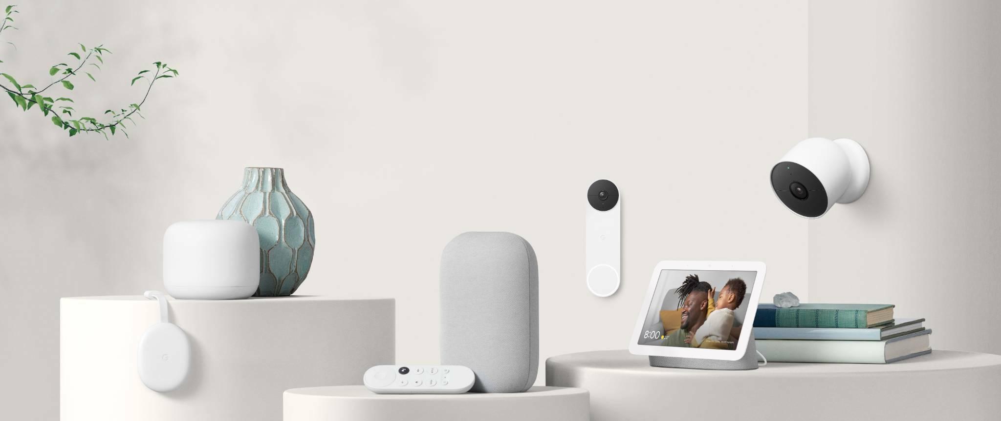 Nest Cam + Nest Doorbell