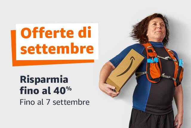 Offerte di settembre Amazon - 2021