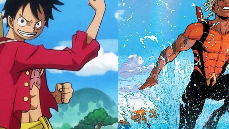 One Piece and Aquaman team up for a new crossover