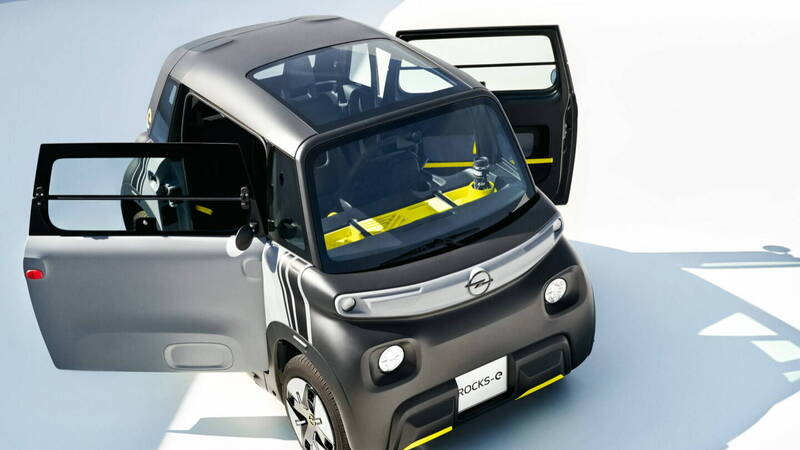 Opel Rocks-e, the German sister of the Citroen Ami arrives