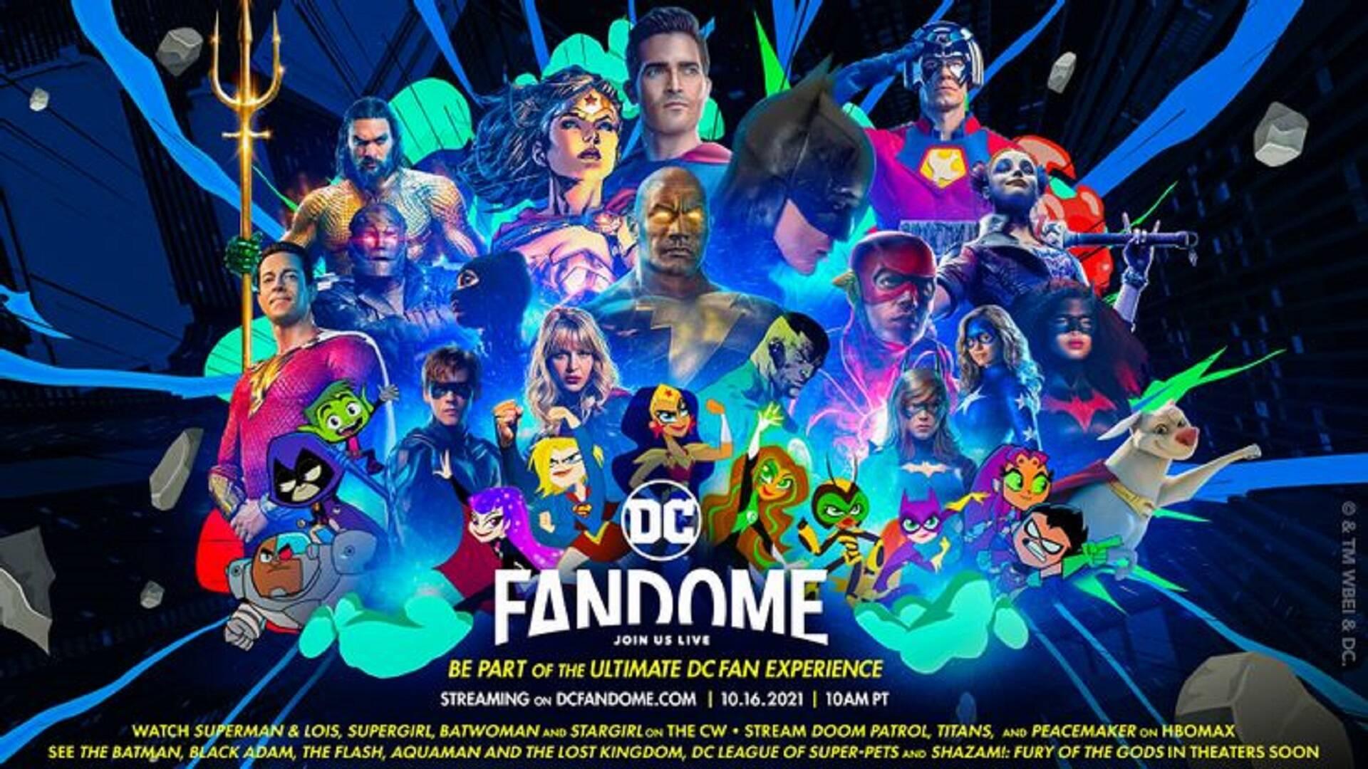Primi dettagli e trailer di DC FanDome 2021
