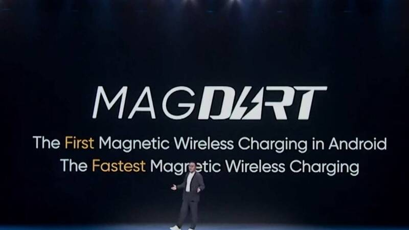 realme MagDart, magnetic wireless charging becomes powerful!