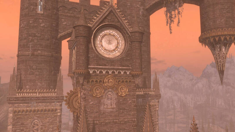 Skyrim: the imposing castle of Castlevania comes to life in this mod