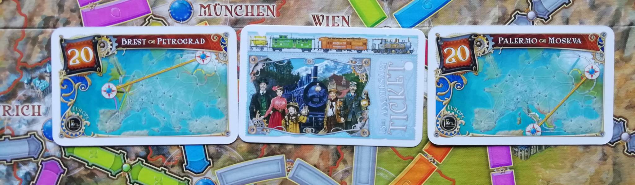 Ticket to Ride:Europe 15th Anniversary Edition