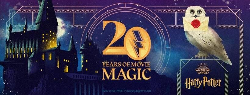 Un evento streaming gratuito per il 20° anniversario di Harry Potter e la Pietra Filosofale