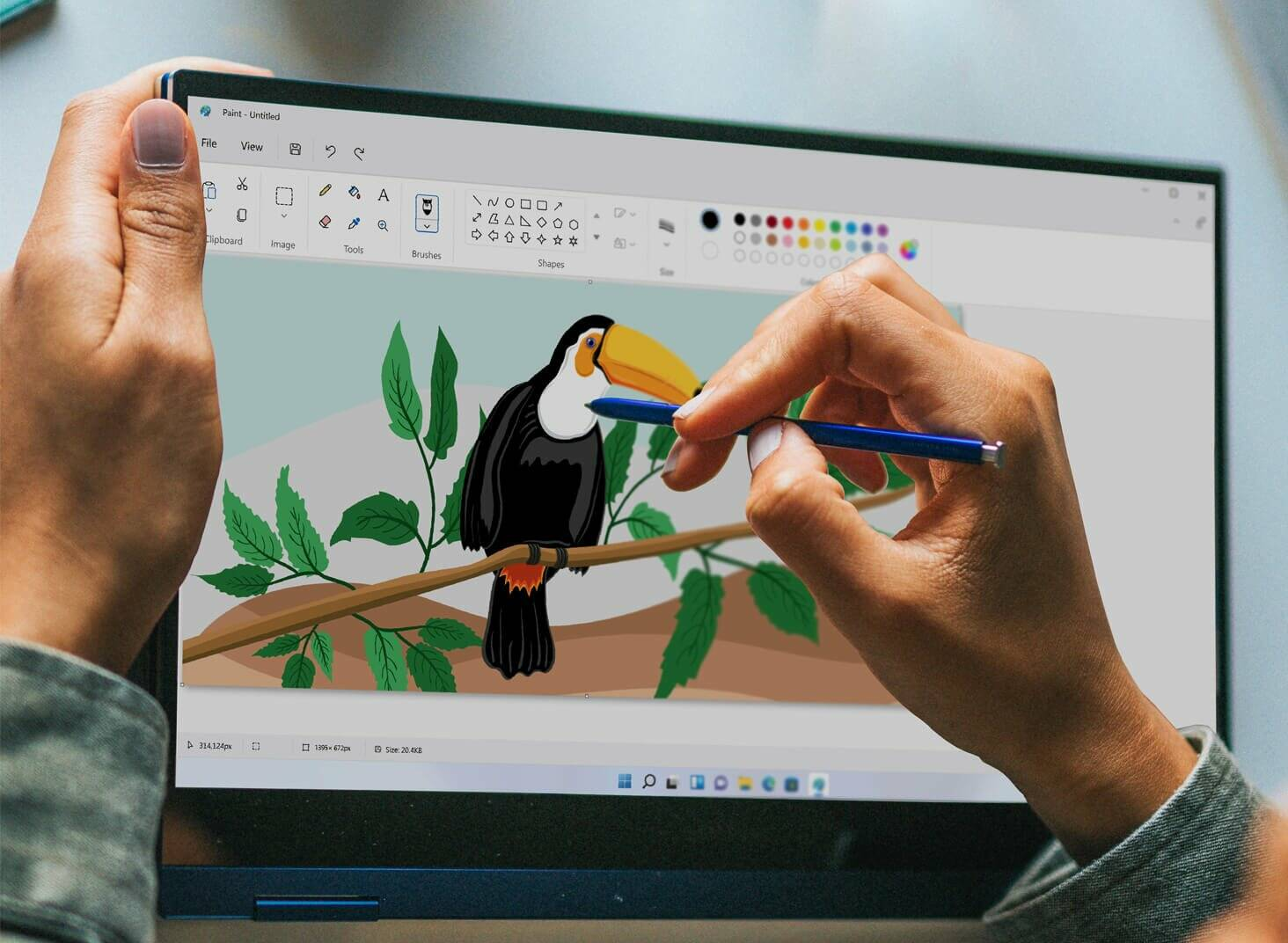 Windows 11 Leak Microsoft Paint