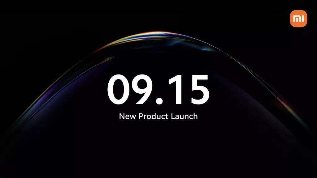 Xiaomi evento settembre 2021