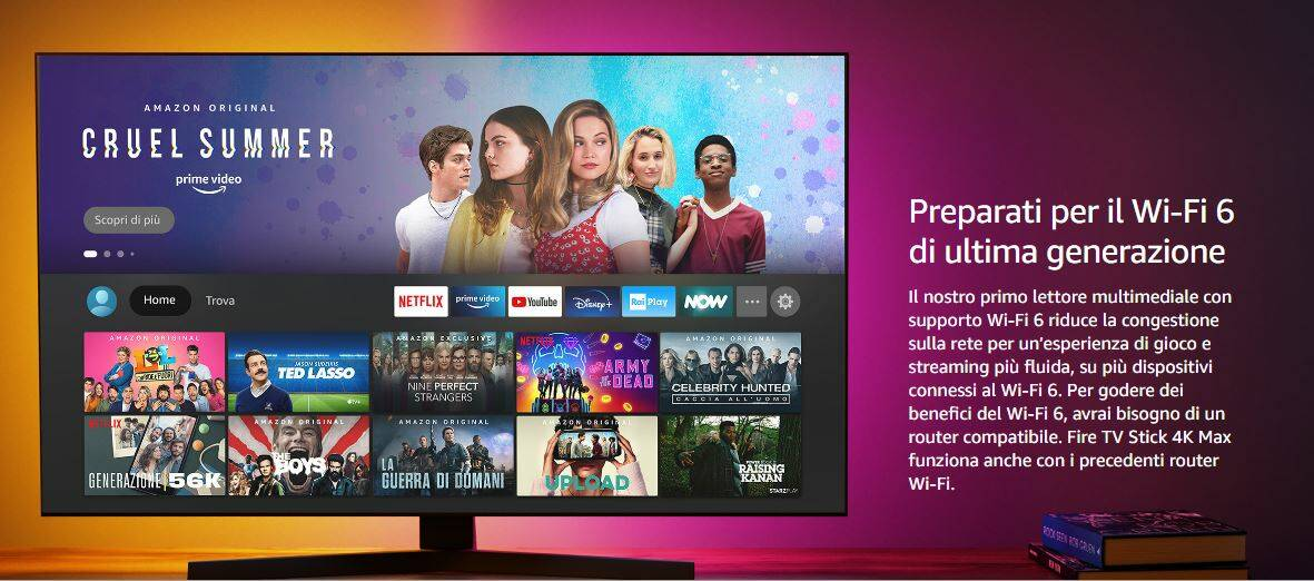Amazon Fire Stick TV 4K Max
