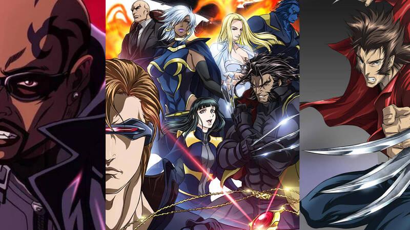 Wolverine, X-Men, Blade: Marvel anime for free on Youtube