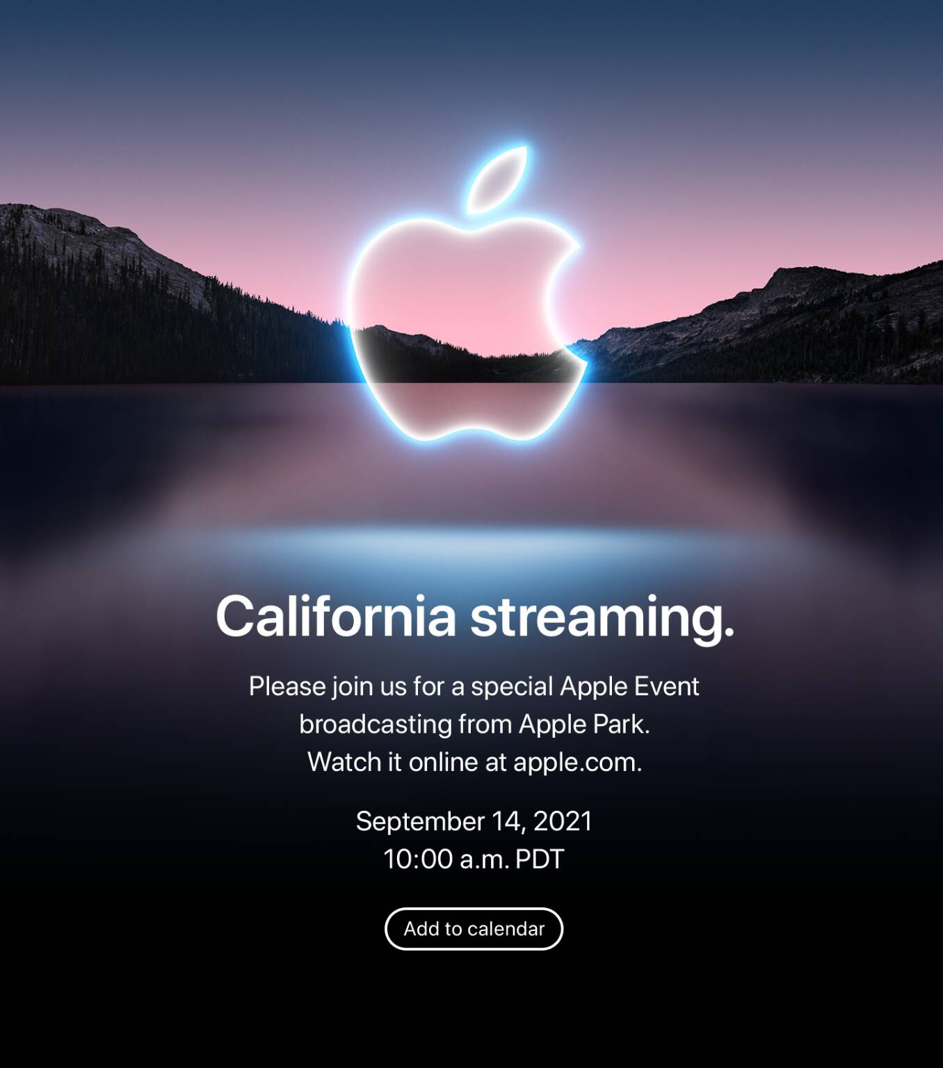 Apple evento 14 settembre 2021