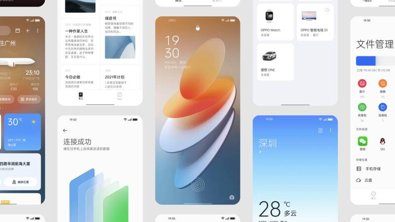 ColorOS 12 is official, all the news coming to Oppo and OnePlus smartphones