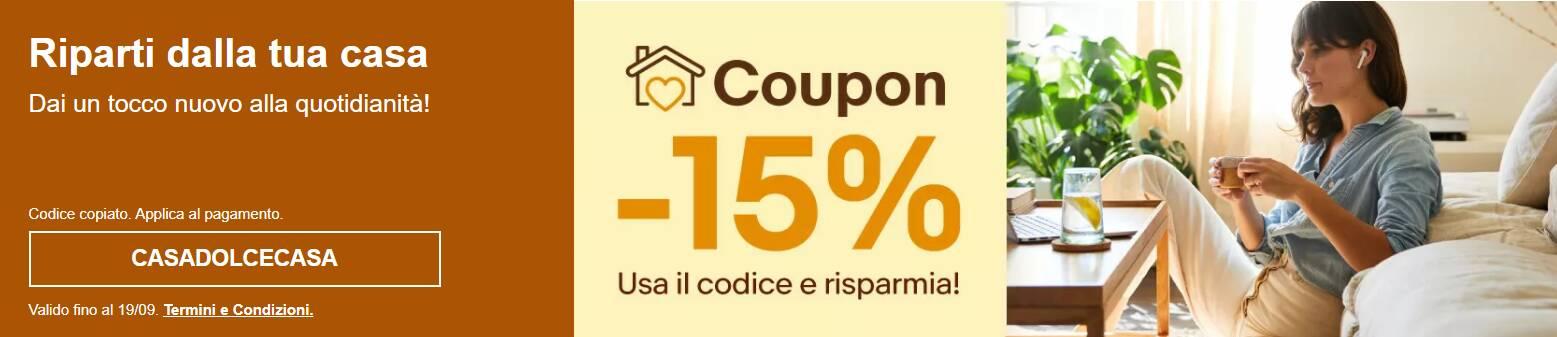 coupon sconto ebay