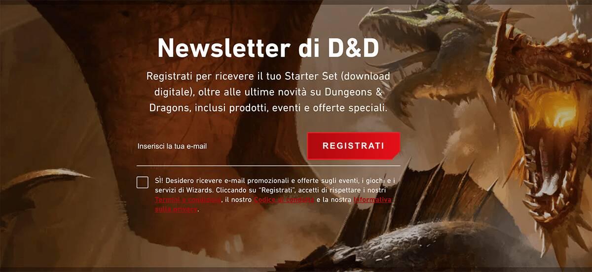 Dungeons & Dragons Starter Set gratis