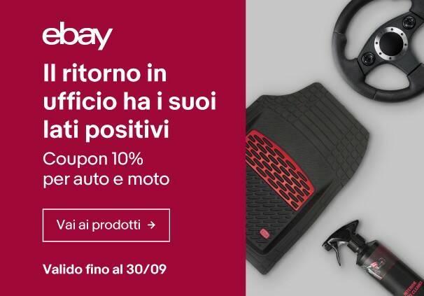 eBay coupon auto moto 20-09-2021