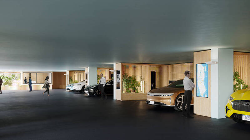 A garage only for electric cars is born in New York