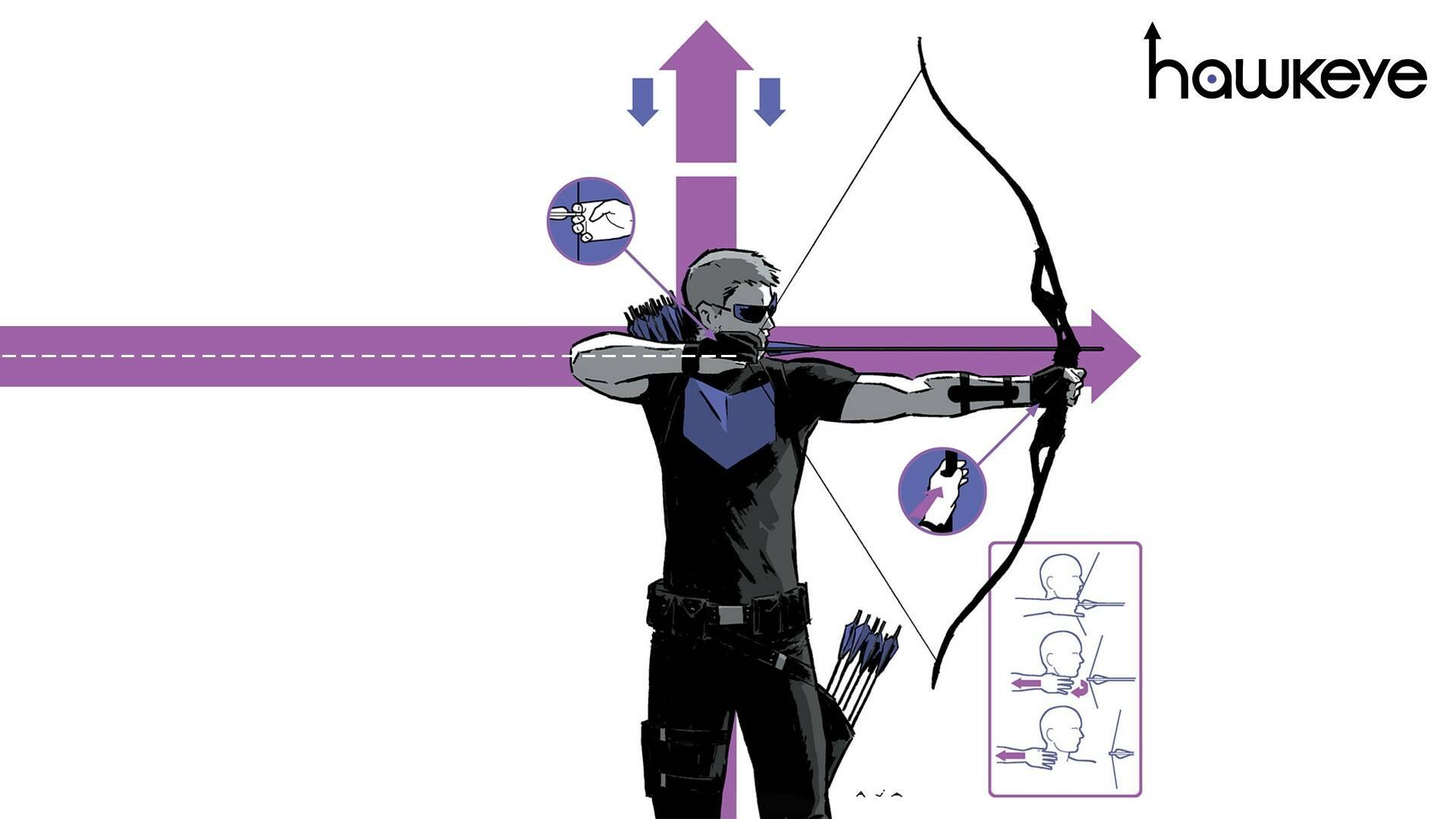 fumetti di Hawkeye - Cover