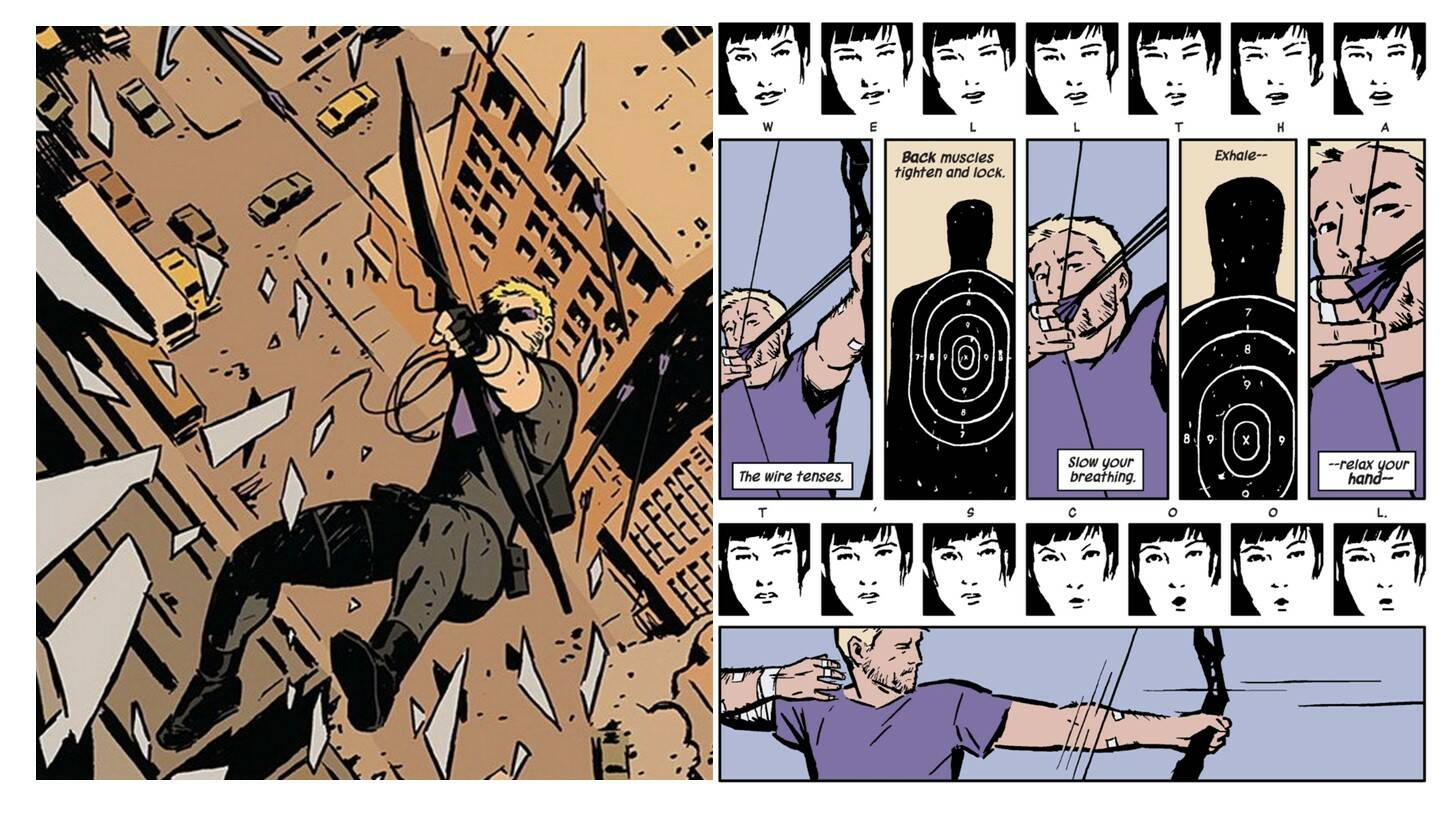 fumetti di Hawkeye - Vita Normale
