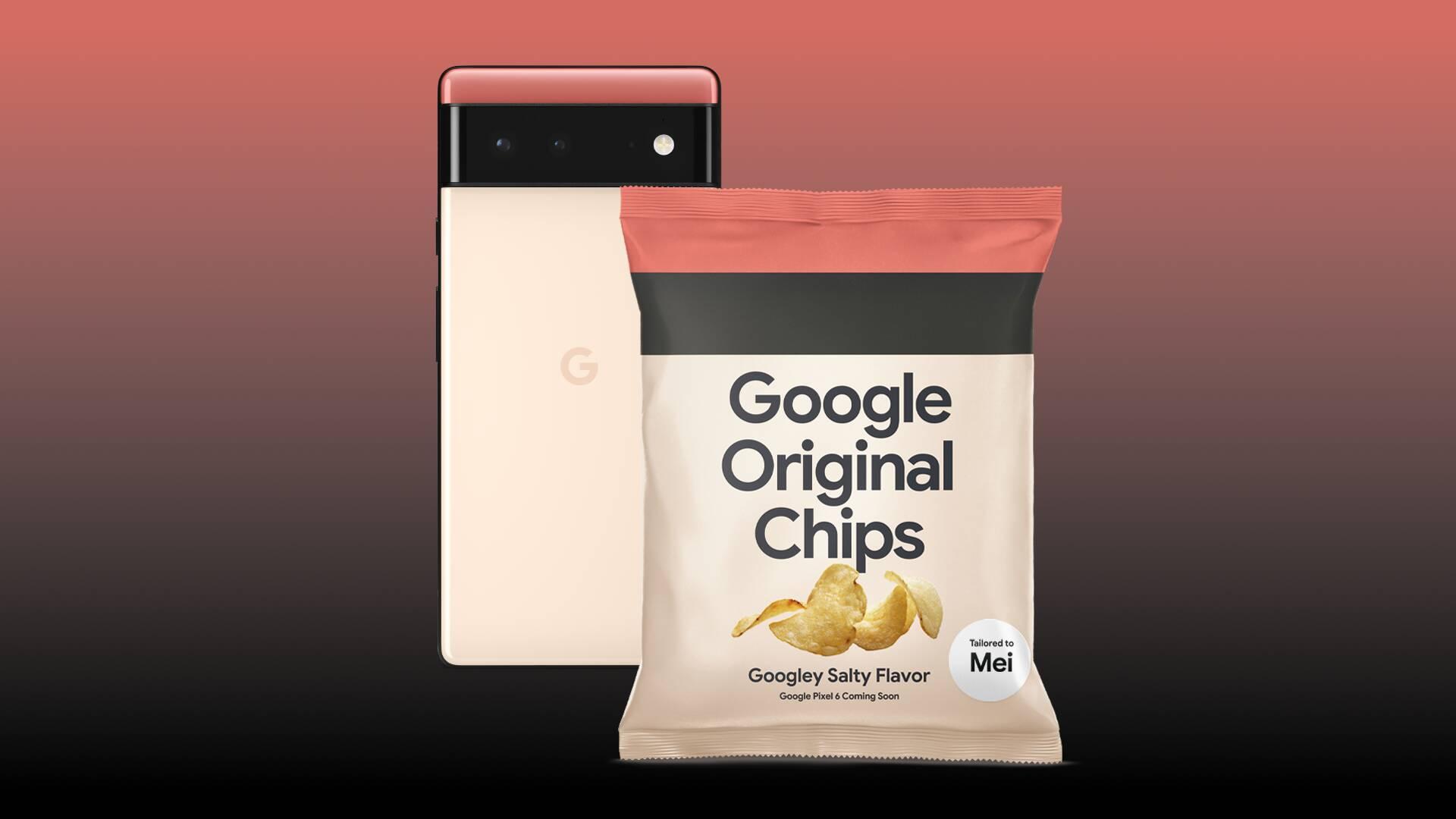 Google Original Chips - Pixel 6