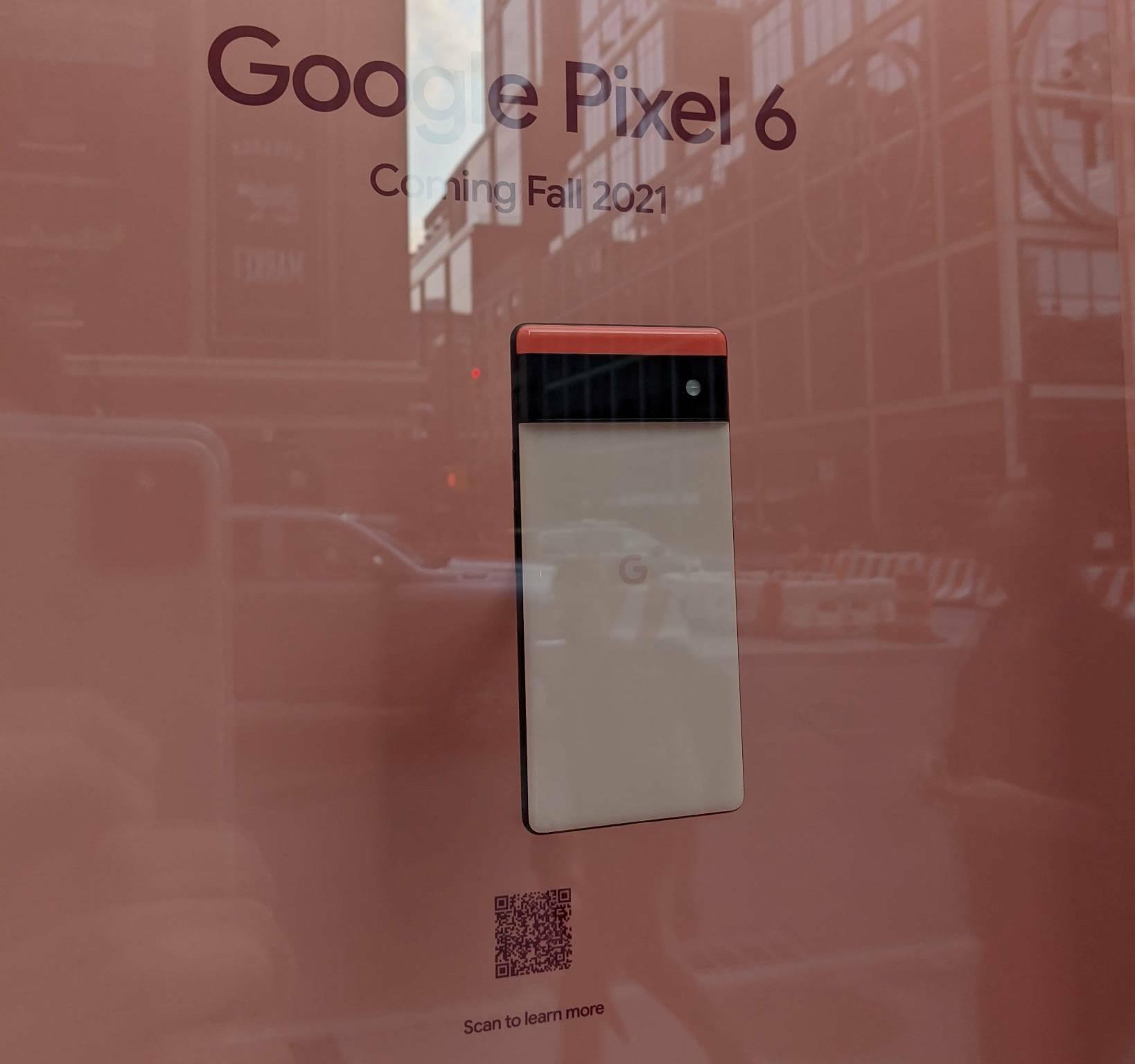 Google Pixel 6 Pro e Pixel 6 Store New York