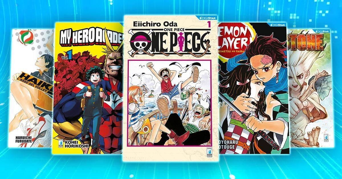 Il boom dei manga in Italia - manga Star Comics