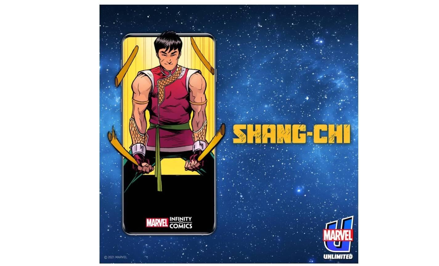 Infinity Comics: Marvel lancia la sua linea di webcomics