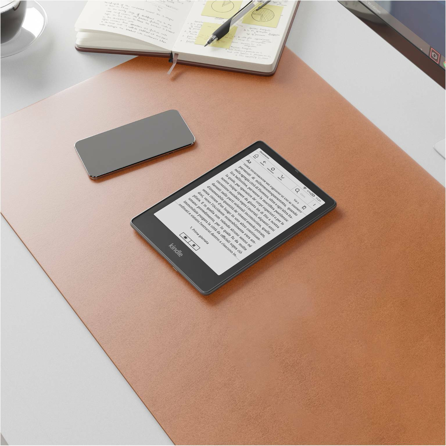 Kindle Paperwhite e Signature Edition