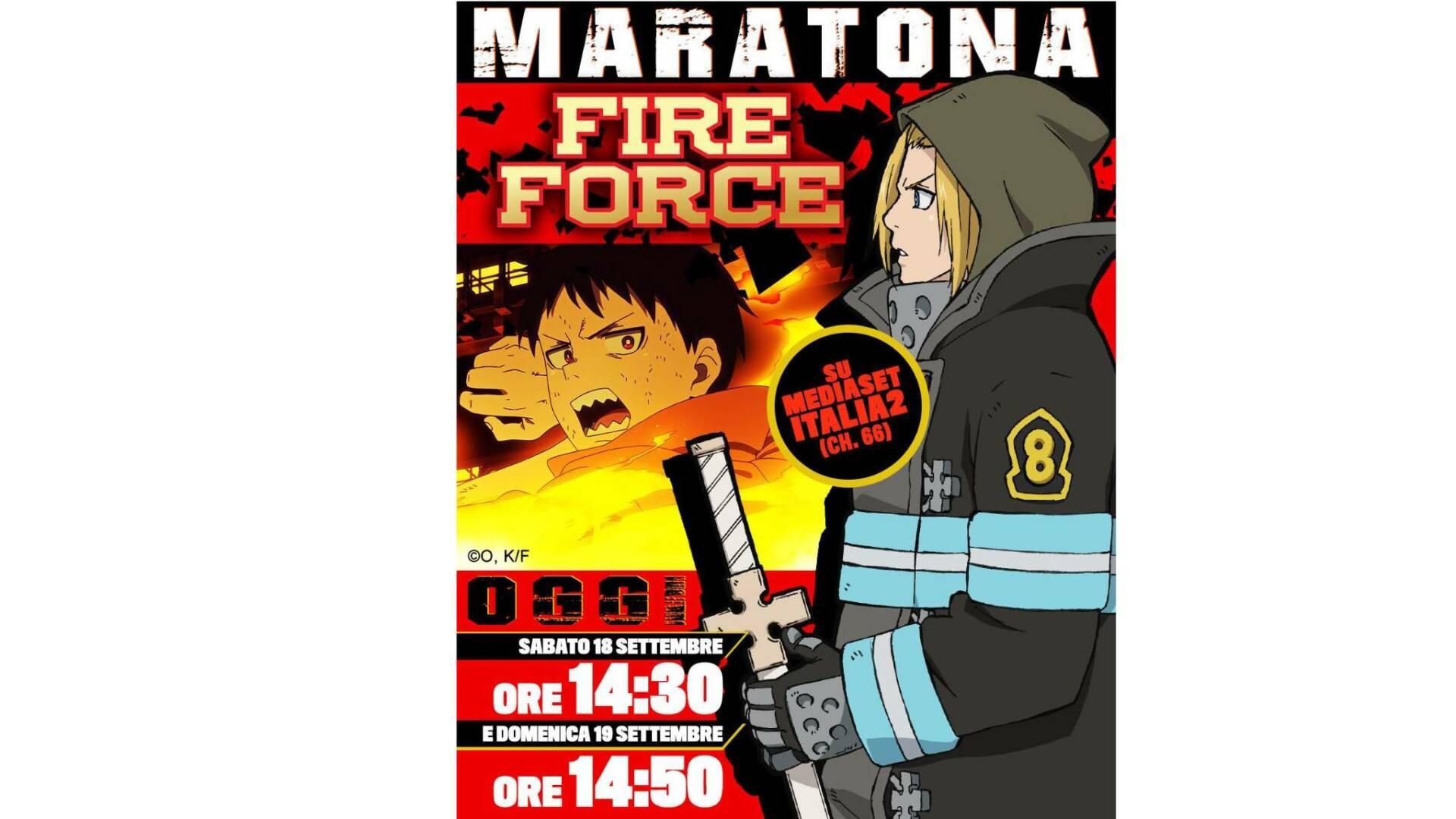 La maratona di Fire Force