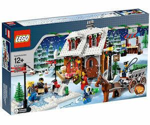 LEGO CREATOR EXPERT 10293 VISITA DI BABBO NATALE